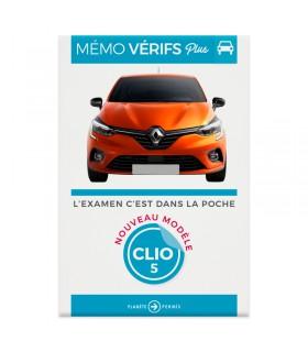 Option : Mémo Vérifs Plus Clio 5